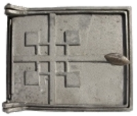 дверка топочная печная ДТ-4, литье печное